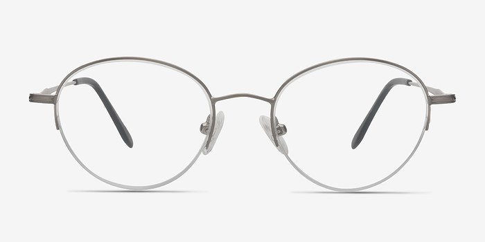 Gunmetal Opposition -  Metal Eyeglasses