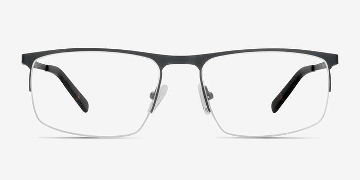 Black Wayne -  Metal Eyeglasses