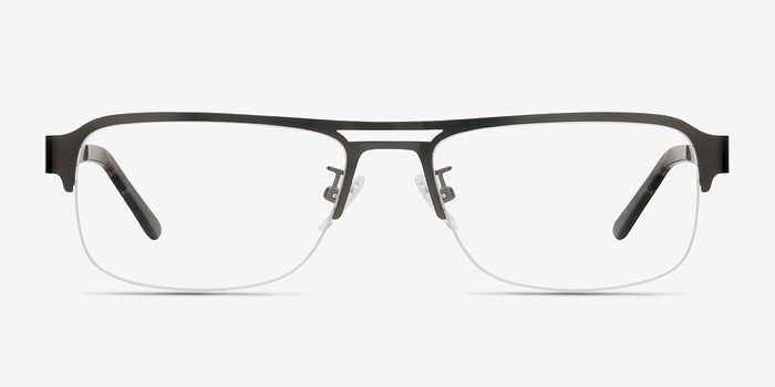 Gunmetal Delta -  Metal Eyeglasses