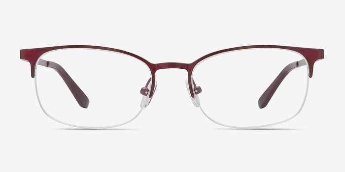 Burgundy Cornet -  Metal Eyeglasses