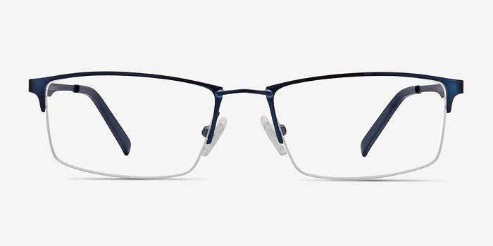 Navy Furox -  Metal Eyeglasses