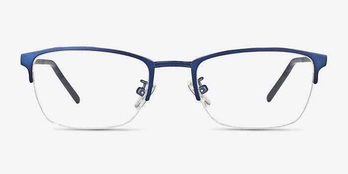 Matte Navy Argil -  Metal Eyeglasses