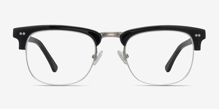 Black Brunel -  Acetate Eyeglasses