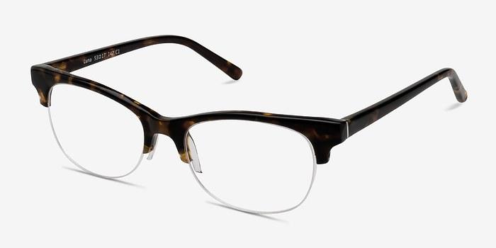 EyeBuyDirect Luna Tortoise Acetate Eyeglasses