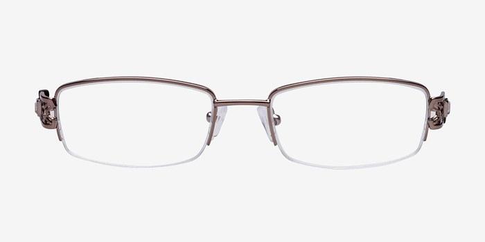 Brown M6004 -  Metal Eyeglasses