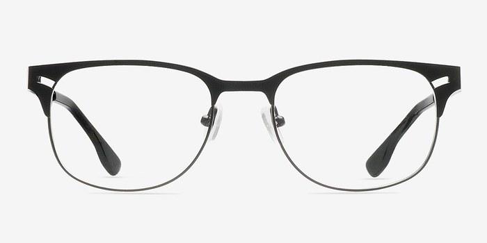 Black Merrion -  Fashion Metal Eyeglasses