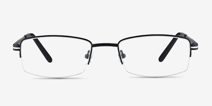 Black Brian -  Classic Metal Eyeglasses