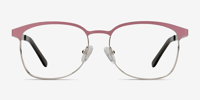 Pink/Silver Dancer -  Fashion Metal Eyeglasses