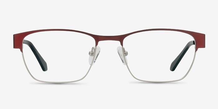 Matte Burgundy Admire -  Fashion Metal Eyeglasses