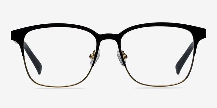 Matte Black/Golden  Intense -  Fashion Metal Eyeglasses
