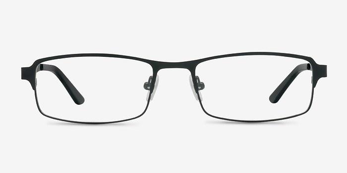 Matte Black Thomas -  Metal Eyeglasses