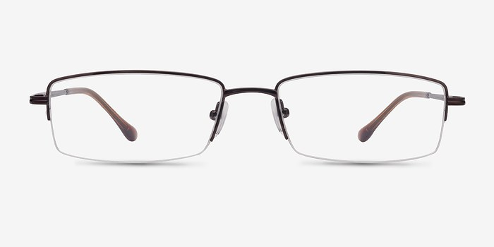 Brown Minneapolis -  Metal Eyeglasses