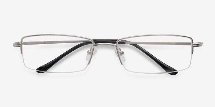 Minneapolis Silver Men Metal Eyeglasses EyeBuyDirect