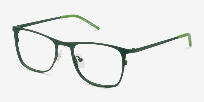 Whisper Matte Green Metal Eyeglasses EyeBuyDirect