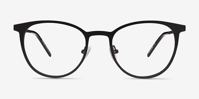 Matte Black Reunion -  Metal Eyeglasses