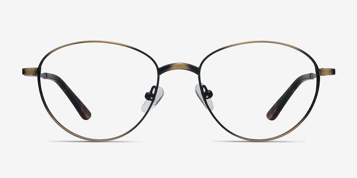 Bronze Nara -  Vintage Metal Eyeglasses