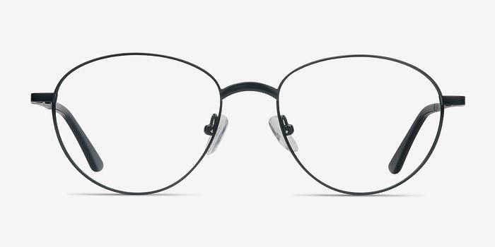 Black Nara -  Metal Eyeglasses