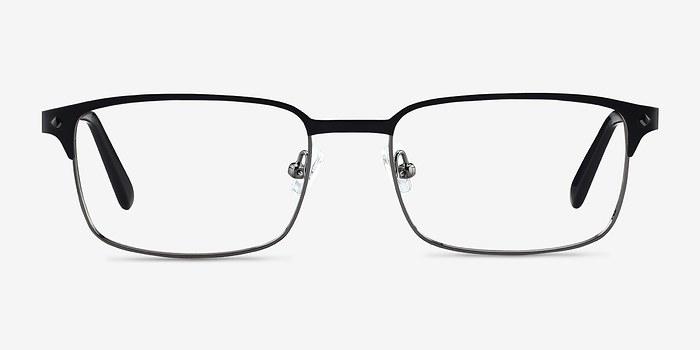 Black Normandy -  Metal Eyeglasses