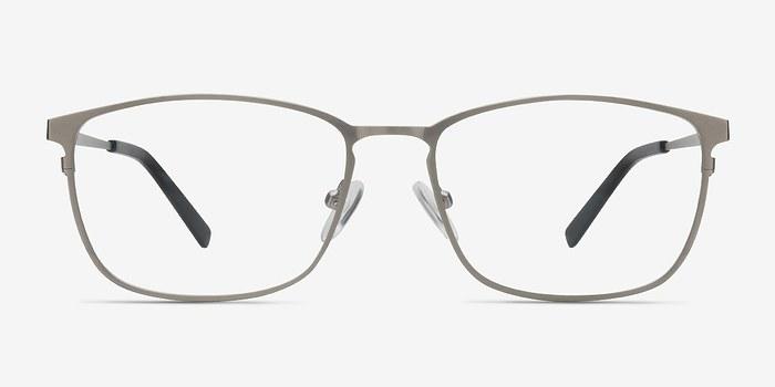 Gunmetal Calm -  Metal Eyeglasses