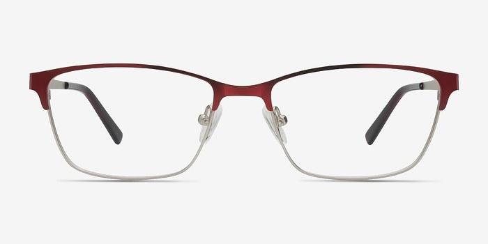 Red Cascade -  Metal Eyeglasses