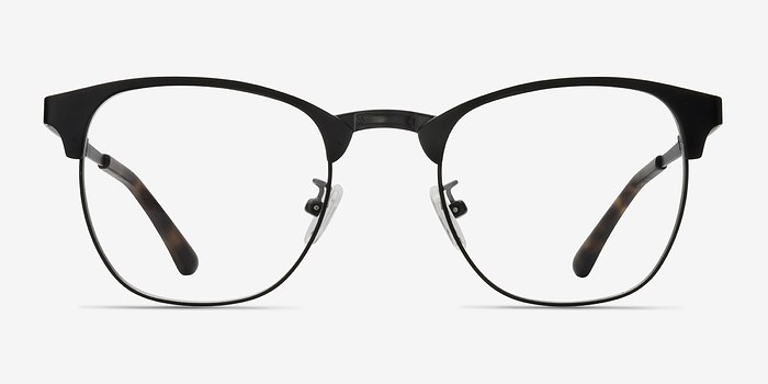 Black Ferrous -  Metal Eyeglasses