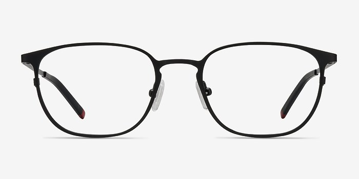 Black Plateau M -  Metal Eyeglasses