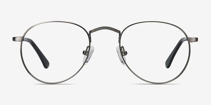 Gunmetal Pensive -  Metal Eyeglasses