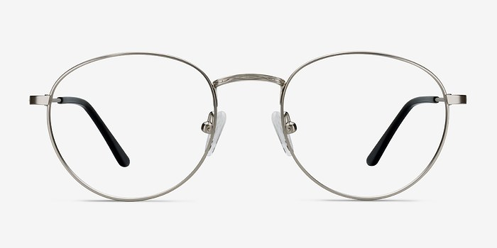 Silver Epilogue -  Classic Metal Eyeglasses