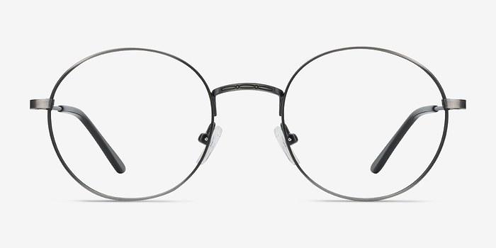 Gunmetal Motif -  Metal Eyeglasses