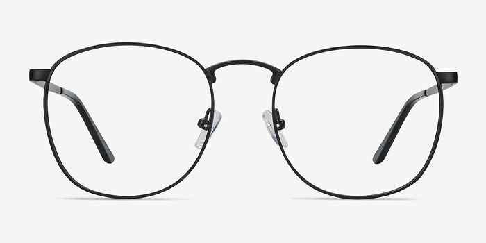 Black St Michel -  Vintage Metal Eyeglasses