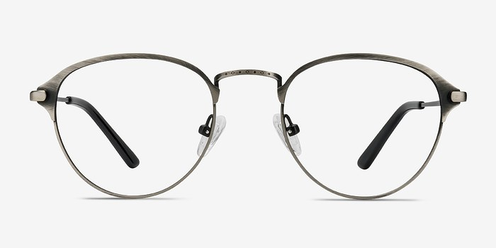 Gunmetal Wrap -  Metal Eyeglasses