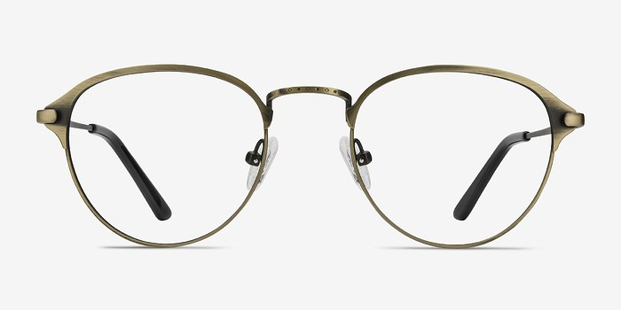 Bronze Wrap -  Metal Eyeglasses