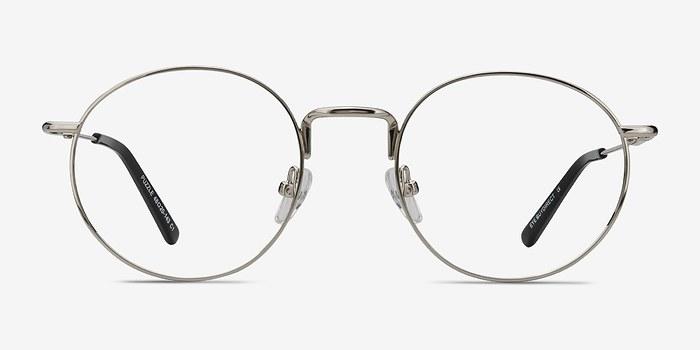 Silver Puzzle -  Metal Eyeglasses