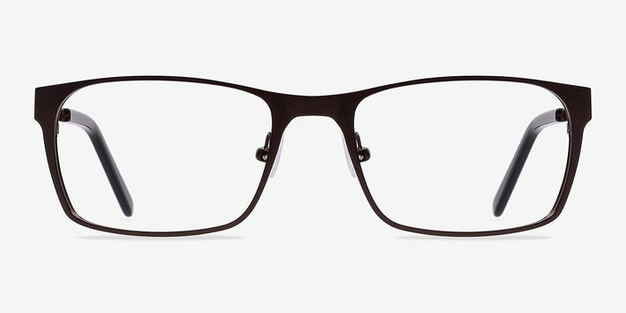 Coffee Dublin -  Classic Metal Eyeglasses
