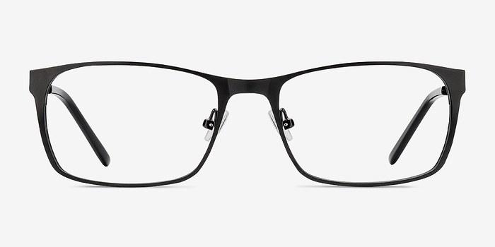 Matte Black Dublin -  Metal Eyeglasses