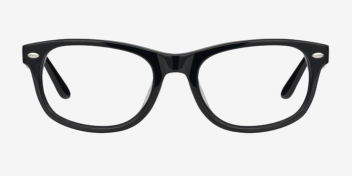 Black HA979 -  Fashion Acetate Eyeglasses
