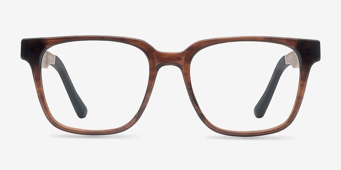 Brown Belmont -  Fashion Wood Texture Eyeglasses