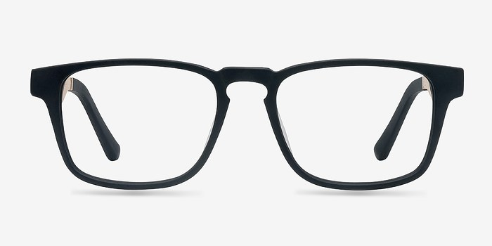 Black Lincoln -  Designer Wood Texture Eyeglasses