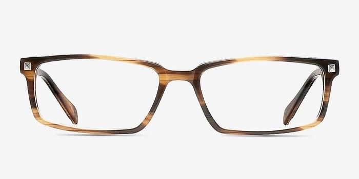 Brown Hugo -  Classic Acetate Eyeglasses