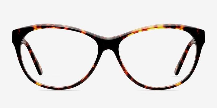 Tortoise Sofia -  Fashion Acetate Eyeglasses