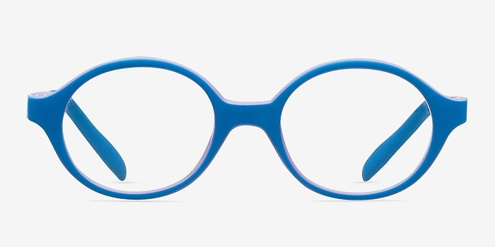 Blue/Purple Theo -  Lightweight Plastic Eyeglasses