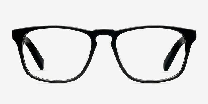 Matte Black Rhode Island -  Fashion Acetate Eyeglasses