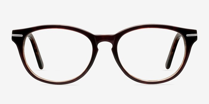 chicago brown acetate eyeglasses eyebuydirect