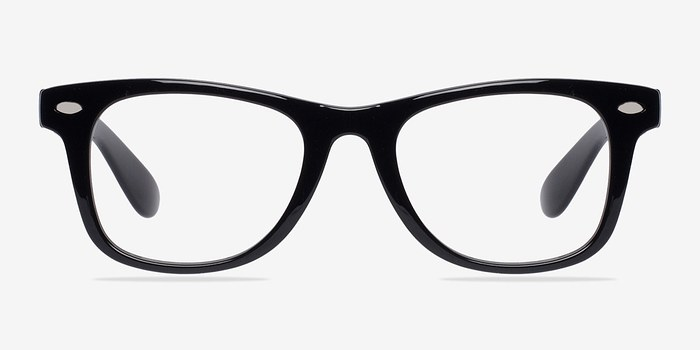Black Atlee -  Fashion Plastic Eyeglasses