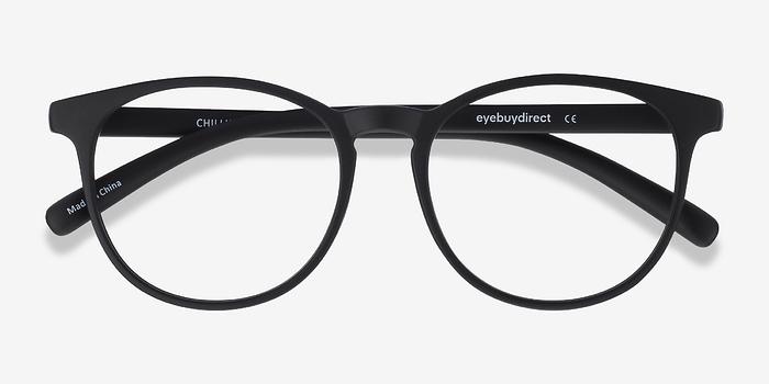 chilling black plastic eyeglasses eyebuydirect