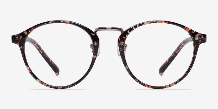 Red/Floral Chillax -  Fashion Plastic Eyeglasses