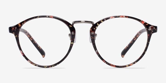 Red/Floral Chillax -  Fashion Plastic Eyeglasses