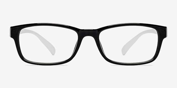 Black/White  Danny -  Fashion Plastic Eyeglasses