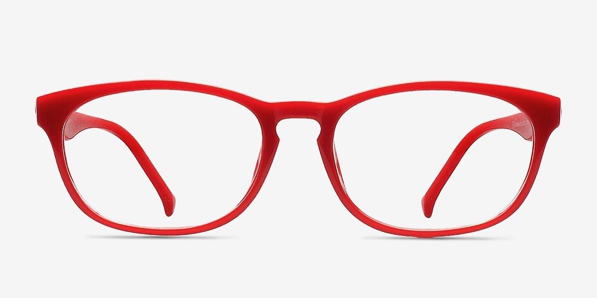 Drums | Red | Women Plastic Eyeglasses | EyeBuyDirect