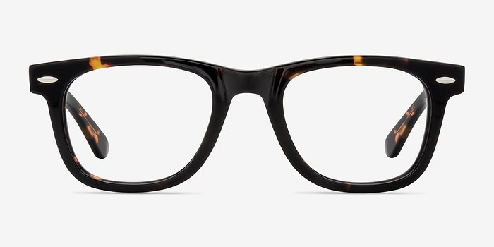 Dark Tortoise Blizzard -  Geek Acetate Eyeglasses
